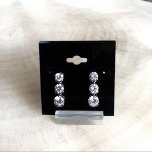 Jewelry - CZ drop earrings